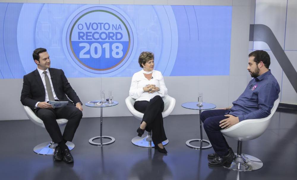 Guilherme Boulos - Edu Moraes/Record TV/Divulgação/ND