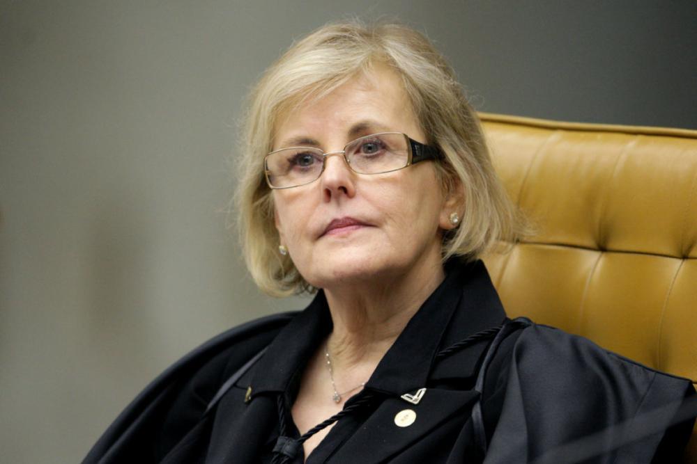 Ministra concluiu às 19h30 seu voto contra o pedido de habeas corpus preventivo ao ex-presidente - Fellipe Sampaio/SCO/STF
