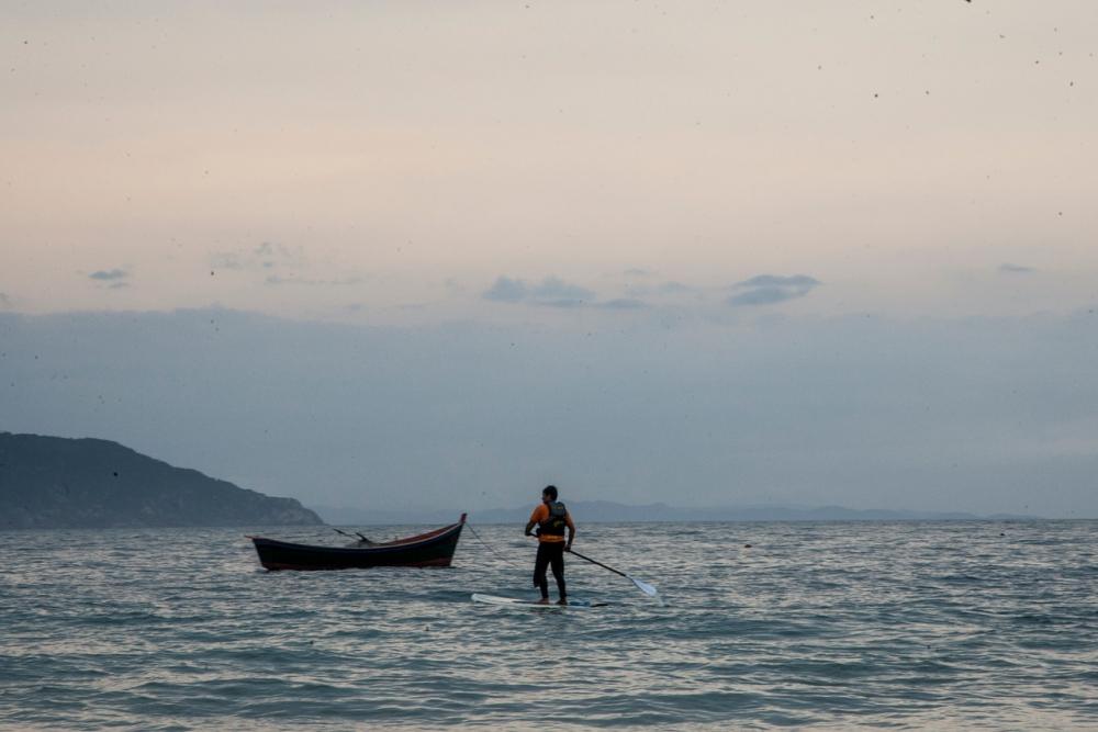 Esta segunda-feira terá sol entre nuvens em Florianópolis - Marco Santiago/ND