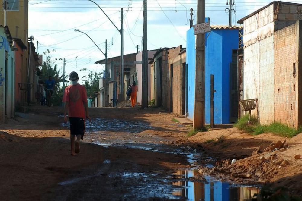 Cidade Estrutural em Brasília - Marcello CasalJr/Arquivo Agência Brasil