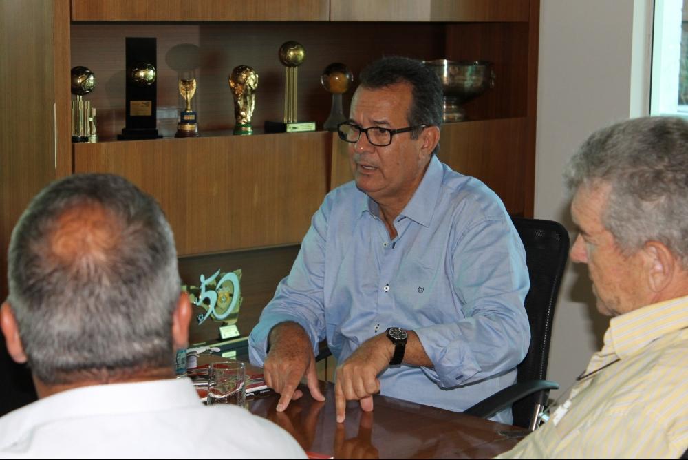 Presidente da FCF Rubens Angelotti - Divulgação