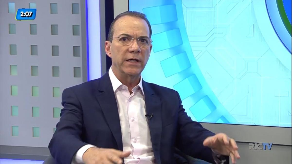 Décio Lima deu entrevista ao grupo RIC na manhã desta segunda-feira (20) - RIC TV Record/Divulgação/ND