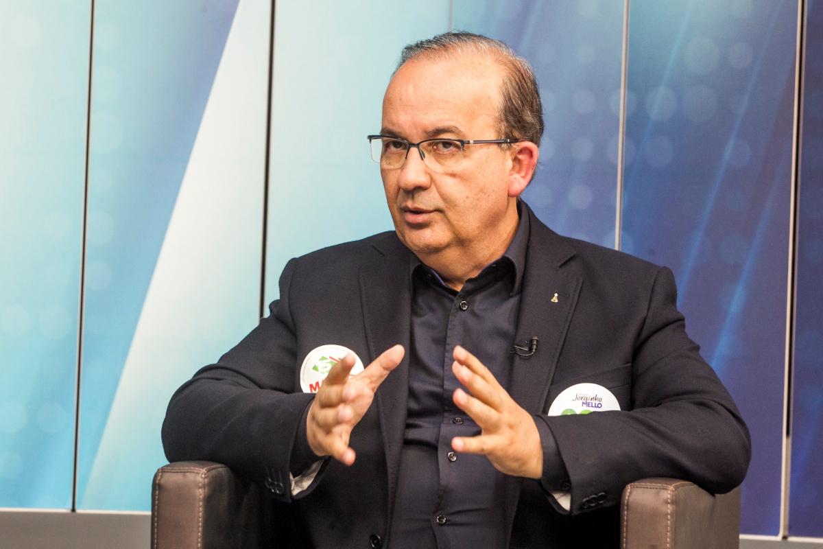 Candidato a senador Jorginho Mello - Marco Santiago/ND