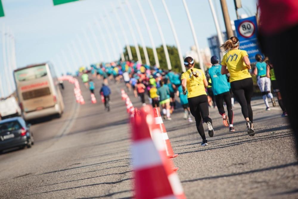 Maratona em Florianópolis  - Daniel Queiroz/ND