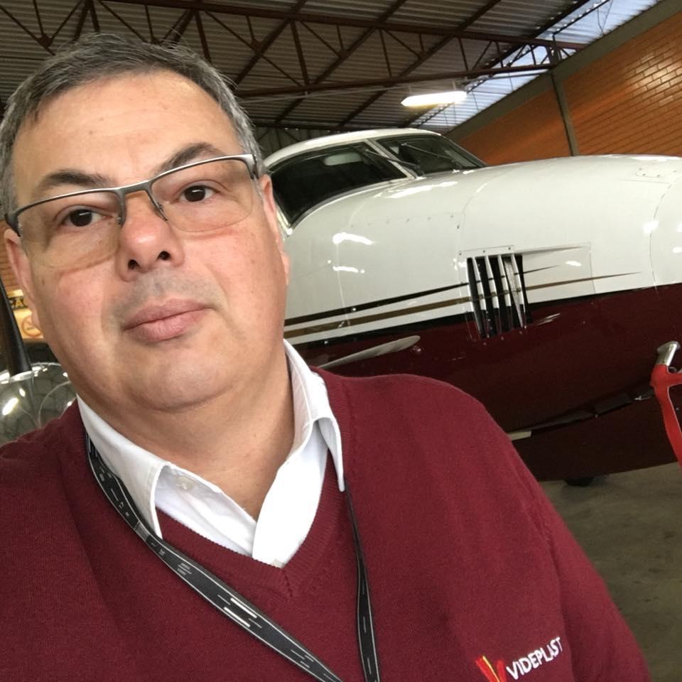 Antônio Carlos Traversi era piloto há 32 anos - Facebook/Reprodução/ND