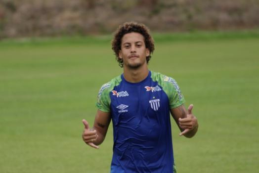 Guga é um dos destaques do Avaí nesta temporada. Atleta de 19 é cobiçado por Europeus. Confira imagens do jogador.  -  Divulgação/Avaí