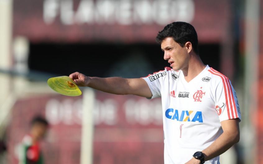 Barbieri: escolher melhor estratégia diante das características dos jogadores (Gilvan de Souza/Flamengo) -