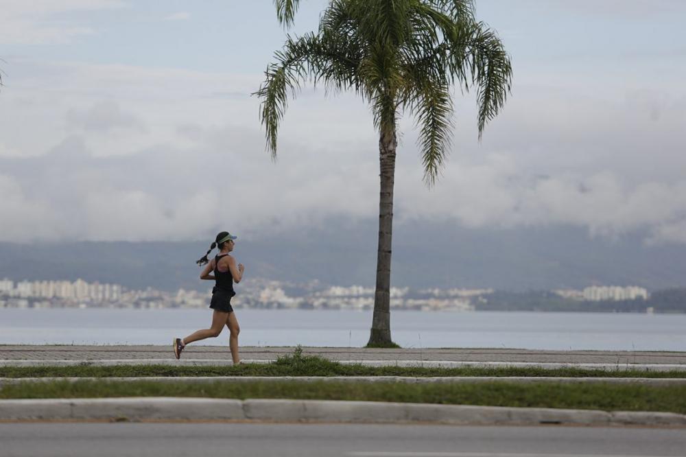 Florianópolis tem tempo instável e sensação de abafamento nesta segunda-feira - Daniel Queiroz/ND