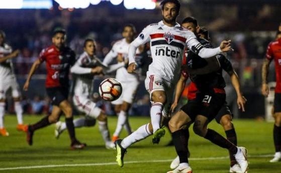 São Paulo x Colón  -  Rodrigo Gazzanel/RM Sports