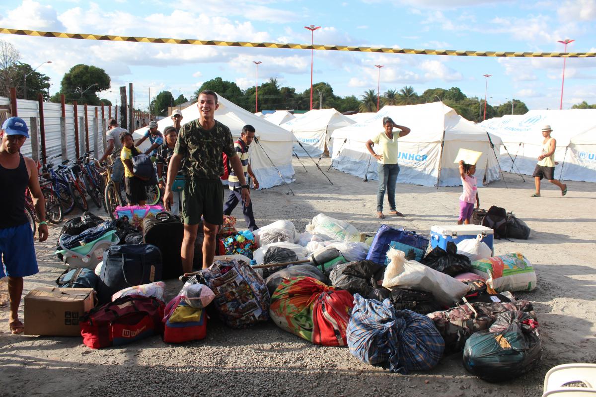 Diante do fluxo migratório, o governo de Roraima havia solicitado o fechamento da fronteira com a Venezuela - Fabio Gonçalves /Fotoarena/Folhapress