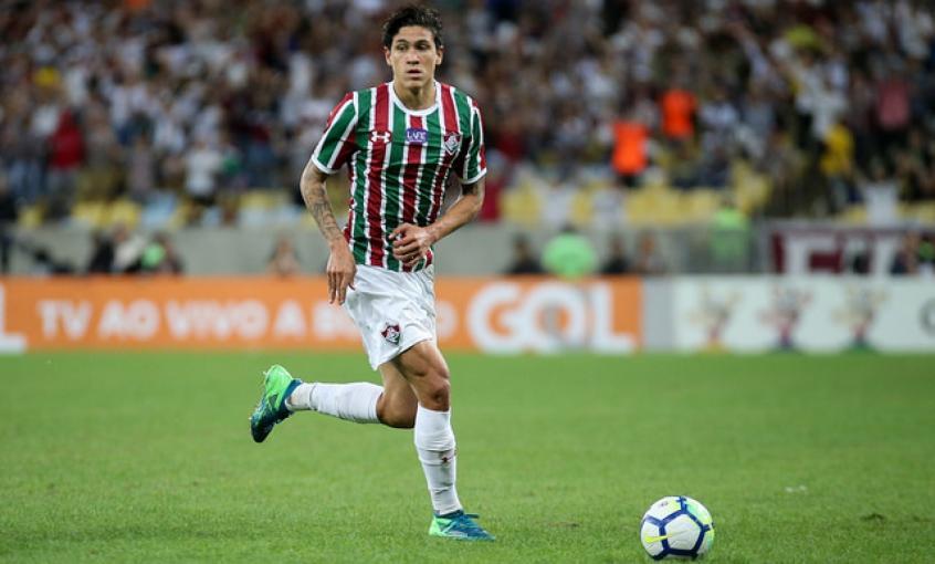 Pedro é o artilheiro do Brasileirão (FOTO: LUCAS MERÇON / FLUMINENSE F.C.) -
