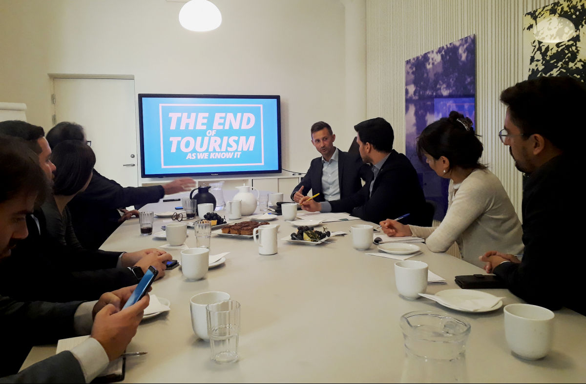 Comitiva brasileira conheceu destaques do turismo em Copenhague - Rodrigo Cardozo/ND