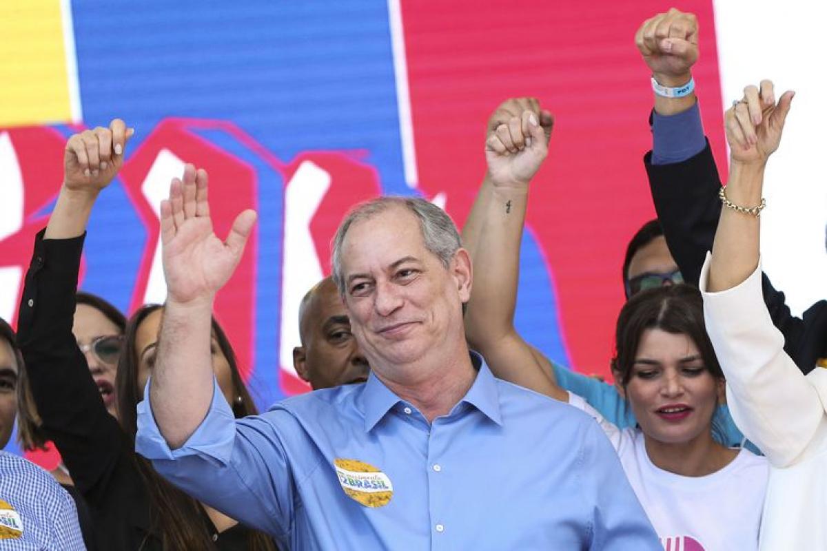 PDT confirma Ciro Gomes como candidato à Presidência da República em convenção nacional - Marcelo Camargo/Agência Brasil