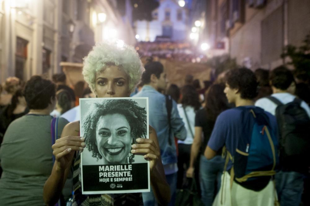Marielle Franco morreu no Rio de Janeiro na noite de quarta-feira - Flávio Tin/ND