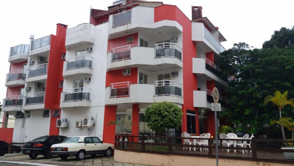 Hotel onde aconteceu a chacina, em Canasvieiras - Karina Koppe/RICTV/ND