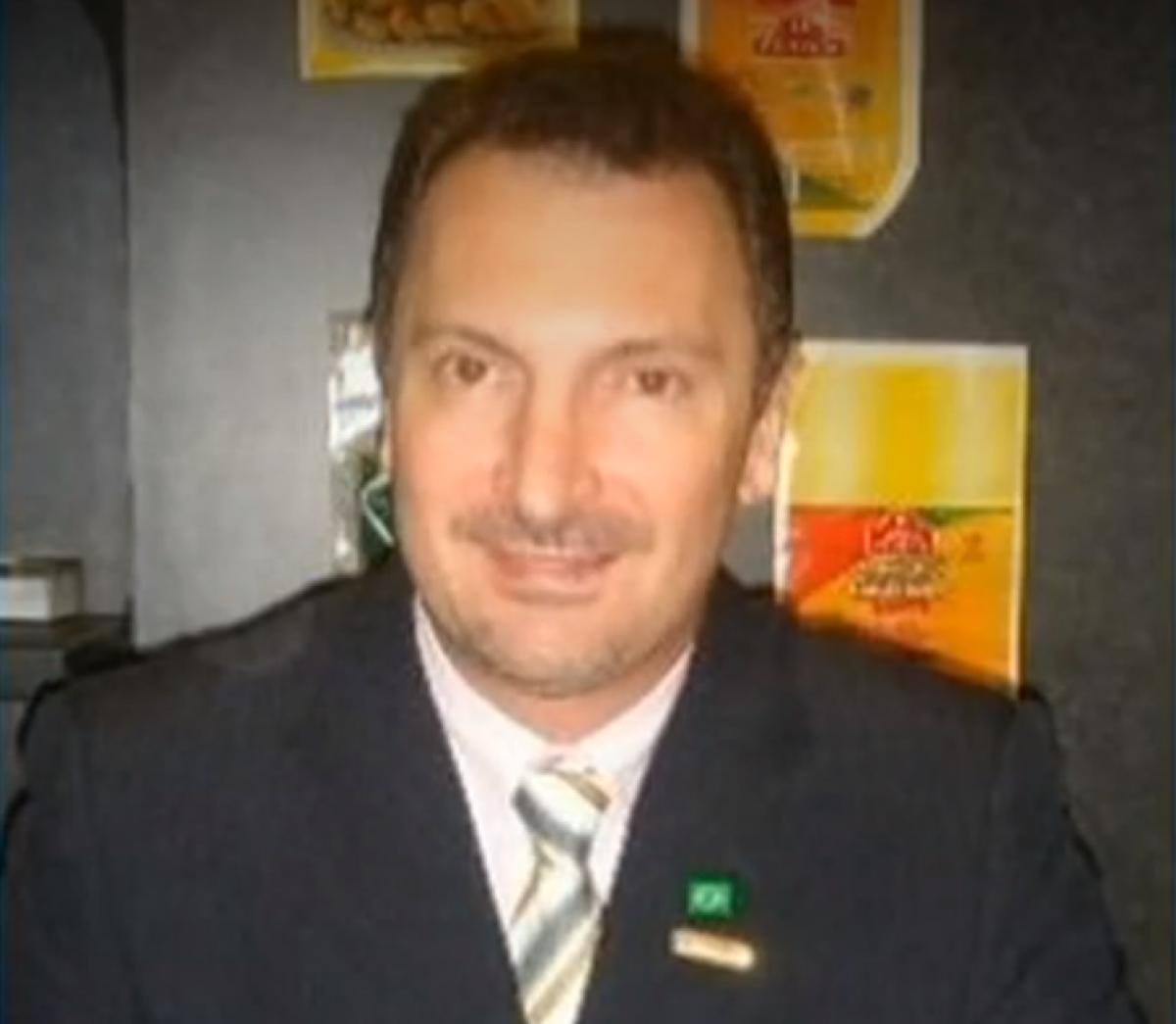 Geraldo Denardi deixou a UTI do hospital nesta quarta-feira, mas continua internado - Record TV/Reprodução
