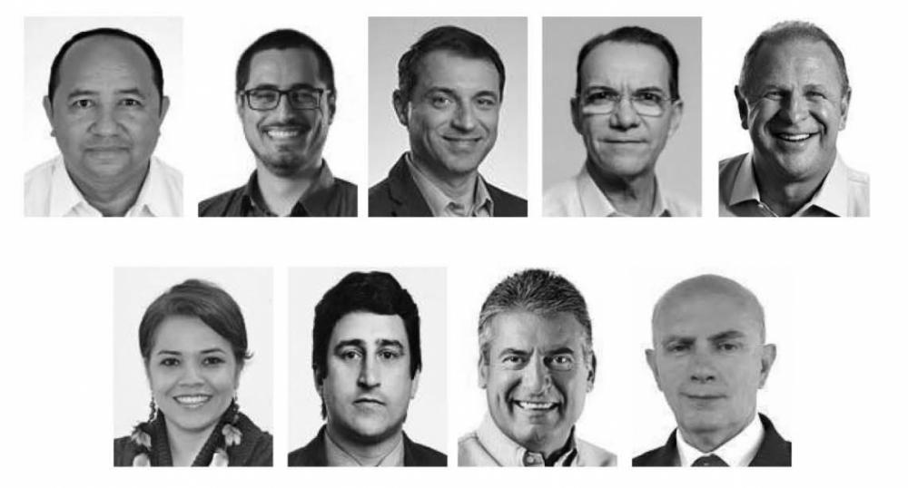 Candidatos ao Governo de Santa Catarina - Divulgação/ND