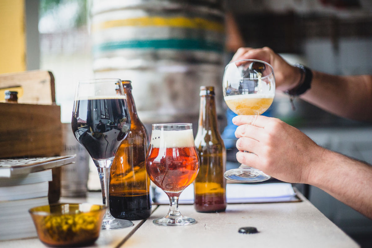 Existem, basicamente, quatro escolas de cerveja: a alemã, a belga, a britânica e a americana - Arquivo/Daniel Queiroz/ND