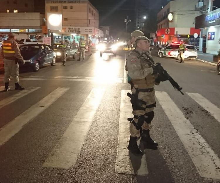 Mais de 5 mil policiais participaram da operação em todo o Estado - Polícia Militar/Divulgação/ND