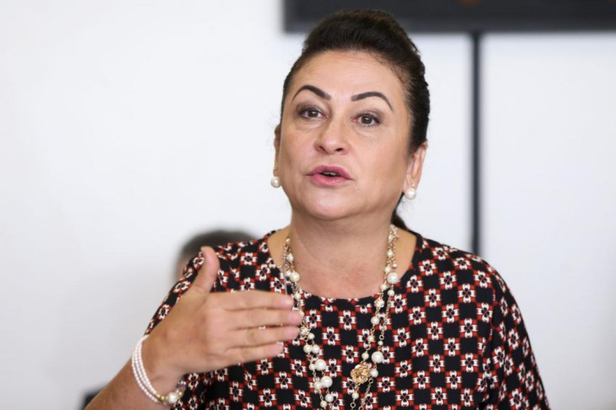 Com a decisão de ser candidata a vice, Kátia abre mão da disputa ao governo de Tocantins - Marcelo Camargo/ Agência Brasil