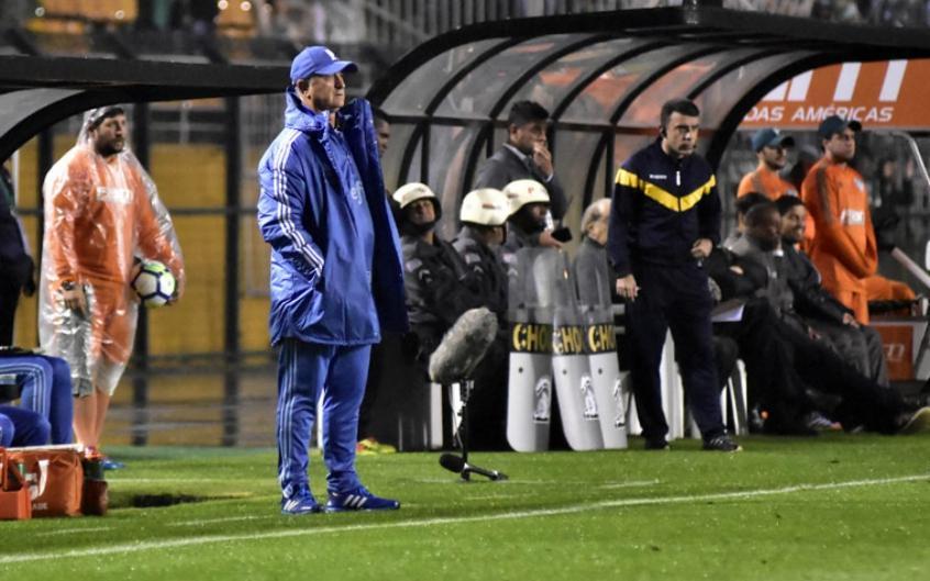 Felipão durante a vitória do Palmeiras no Pacaembu, diante do Bahia (Foto: Eduardo Carmim/Photo Premium) -
