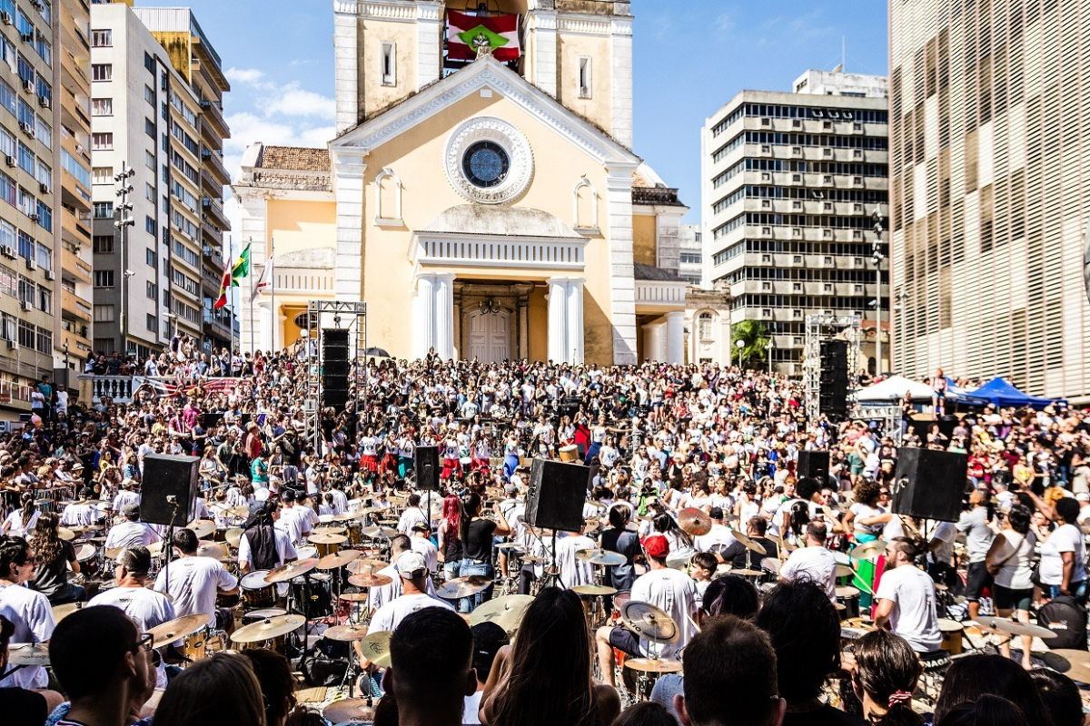 Orquestra de Baterias de Florianópolis que chega à sua sexta edição - CR2 Fotografias/Divulgação