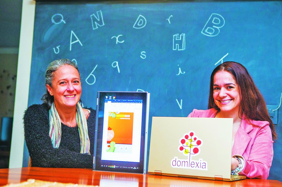 Nadine Heister e Sabrina Luz foram as criadoras do aplicativo - Flávio Tin/ND