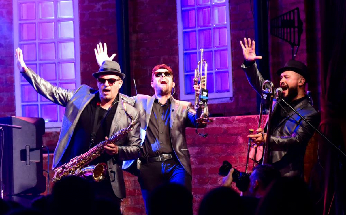 Big Time Orchestra apresenta releitura, como de Ray Charles - Divulgação/ND