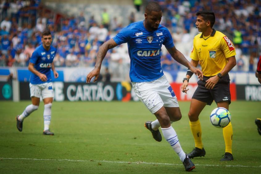 Dedé ficou quase três anos sem jogar pela Raposa e voltou em grande estilo (Foto: Vinnícius Silva / Cruzeiro) -