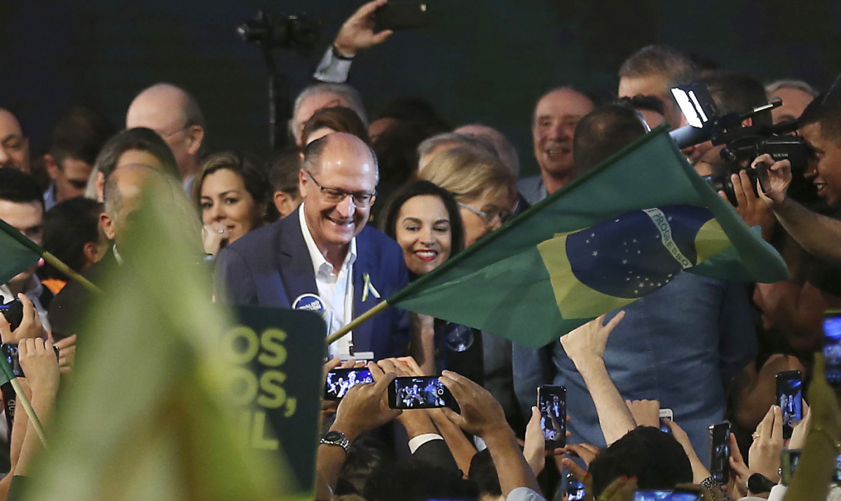 Em Brasília, PSDB lança Geraldo Alckmin como seu candidato à Presidência da República - José Cruz Agencia Brasil