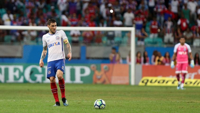 Tiago está confiante na classificação do Bahia às oitavas de final da Sul-Americana (Foto: Felipe Oliveira/EC Bahia) -