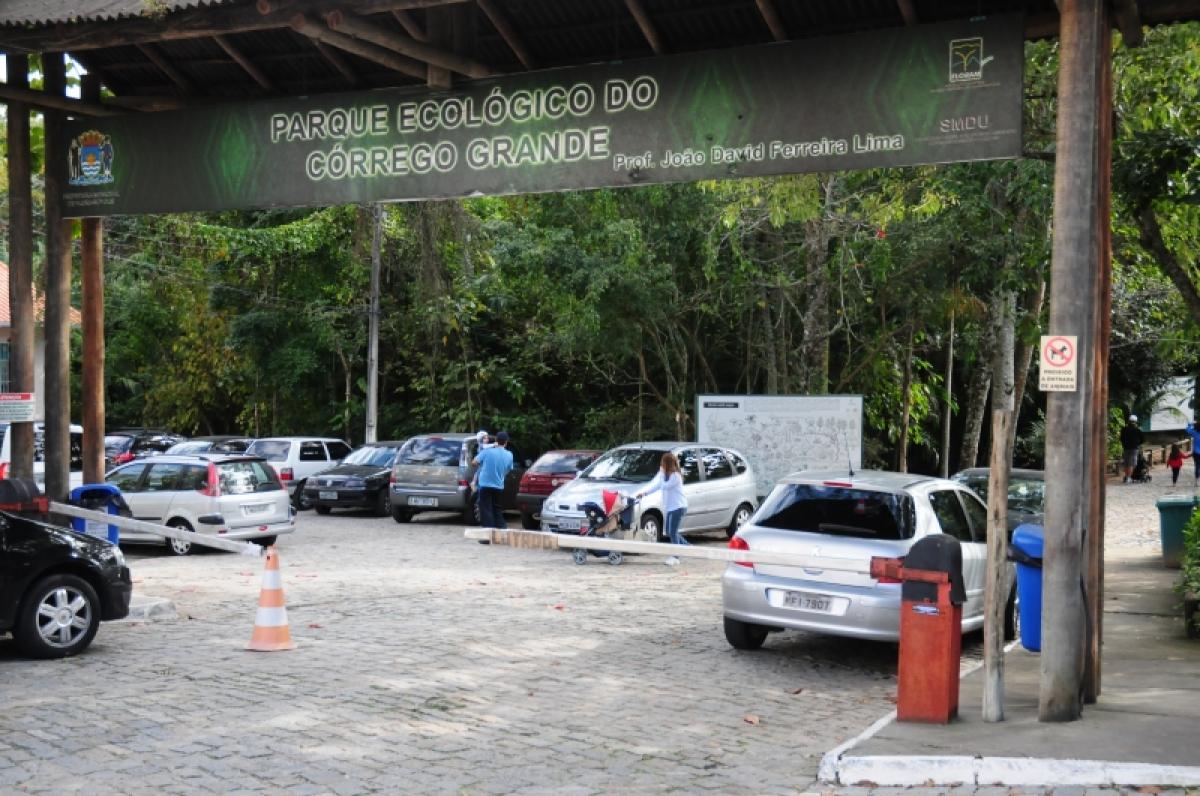 Voluntários irão começar os trabalhos no Parque Ecológico do Córrego Grande - Camila Peixer/PMF/Divulgação/ND