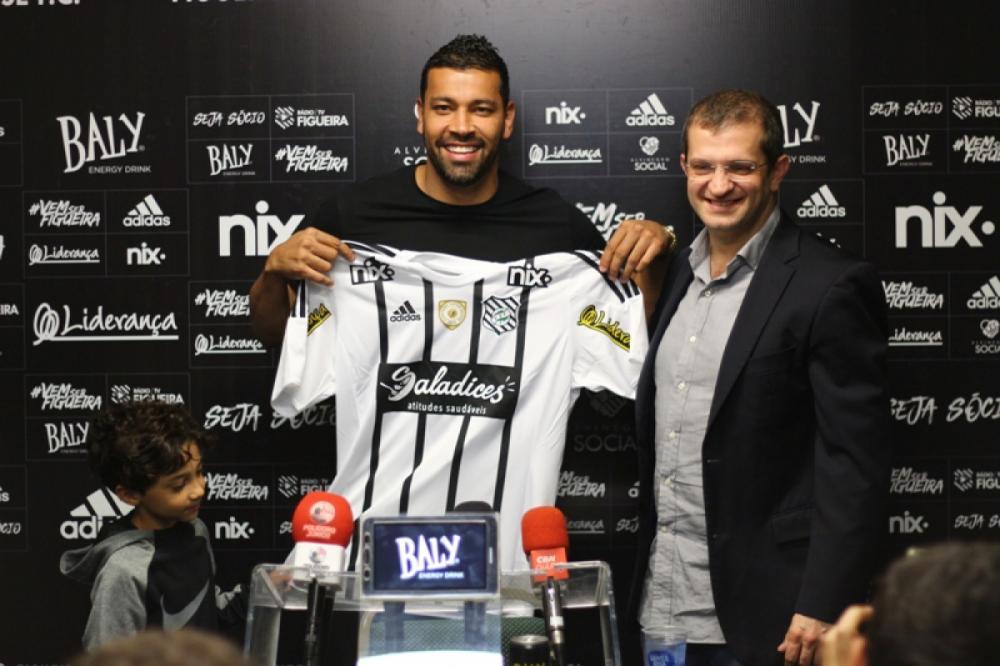 André Santos, apresentado no Figueirense - Figueirense FC/divulgação