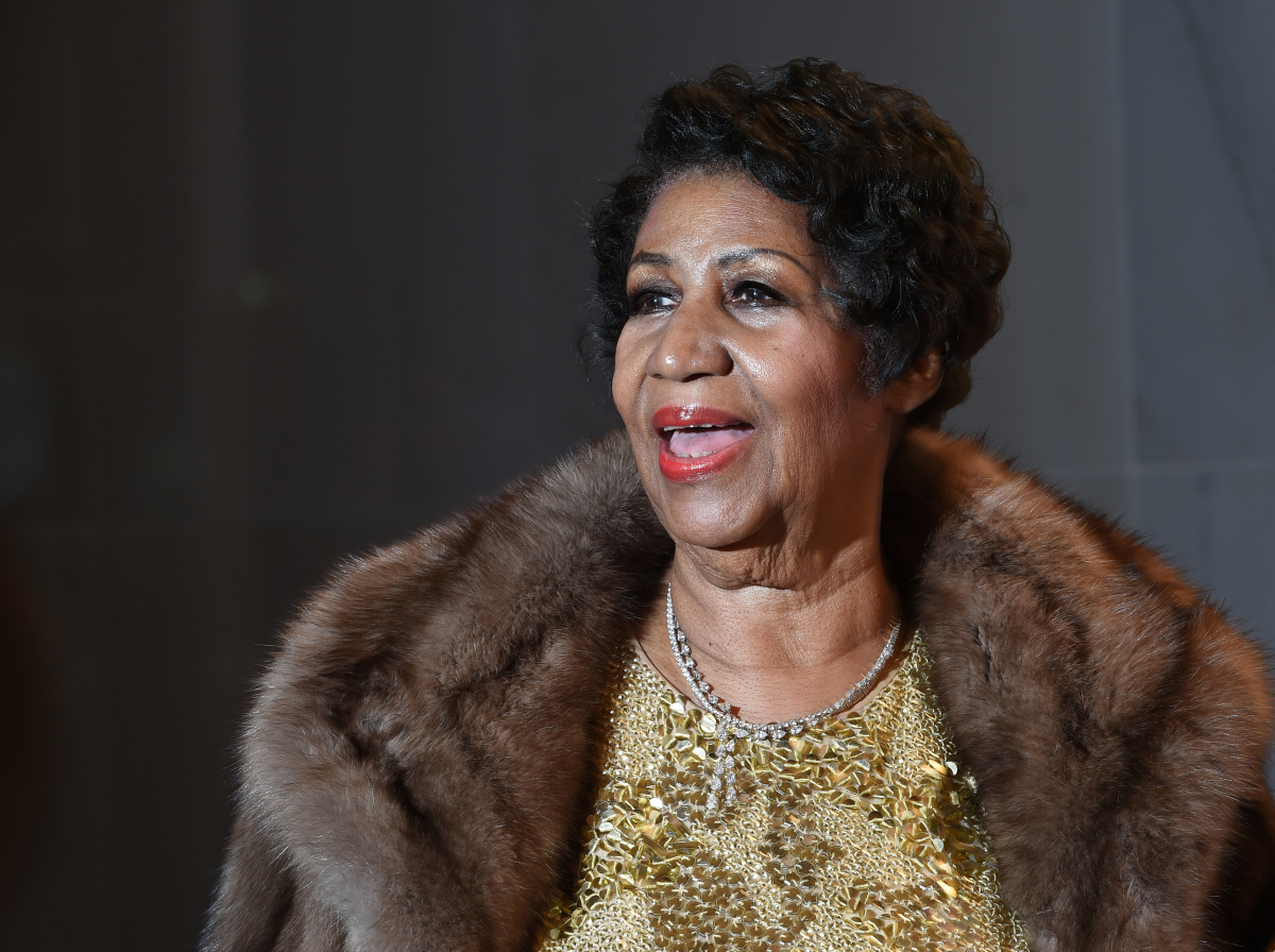 Aretha Franklin a rainha do soul music - MOLLY RILEY/AFP/ND