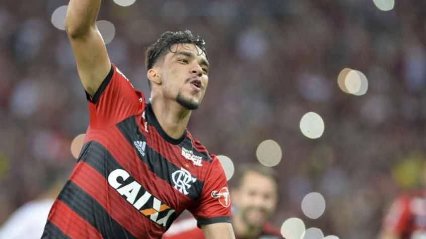 Lucas Paquetá marcou um golaço na vitória do Flamengo sobre o Internacional (Foto: Celso Pupo/Fotoarena) -