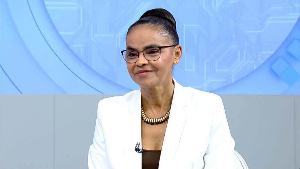 Marina Silva em entrevista na Record TV - Record TV