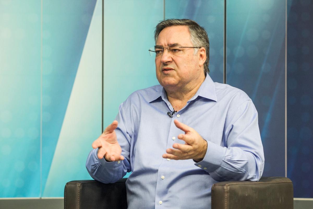 Raimundo Colombo é candidato a senador pelo PSB - Marco Santiago/ND