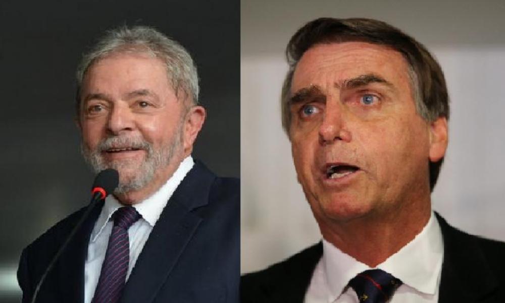 Lula e Bolsonaro - EBC/Divulgação/ND