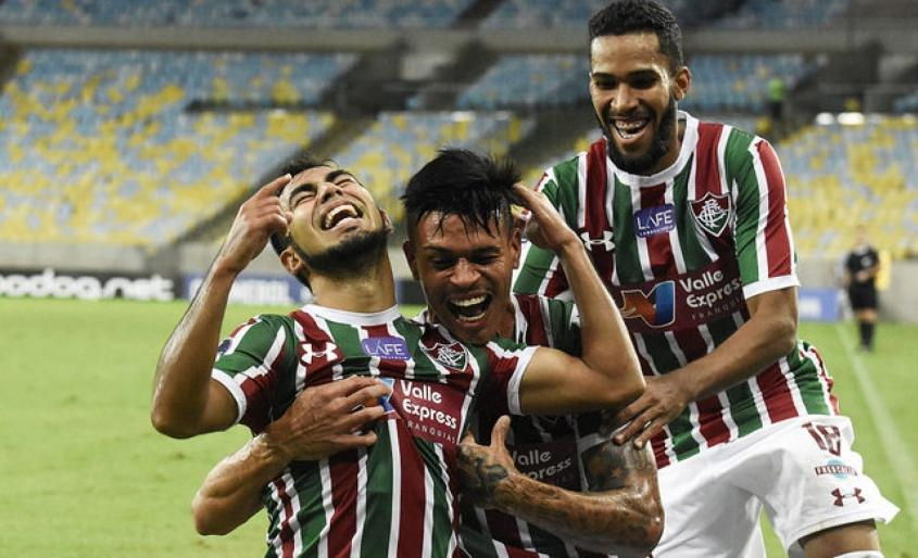 Sornoza foi um dos heróis do Fluminense nesta quinta-feira (Foto: MAILSON SANTANA/FLUMINENSE FC.) -