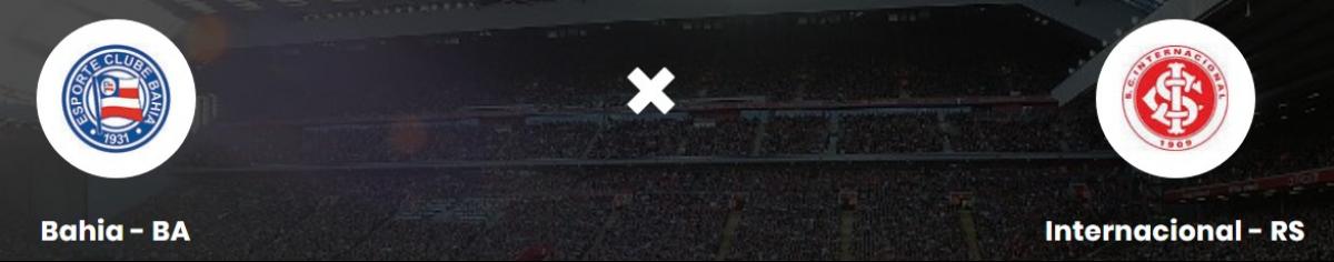 BAH x INT - CBF (Confederação Brasileira de Futebol)/Divulgação