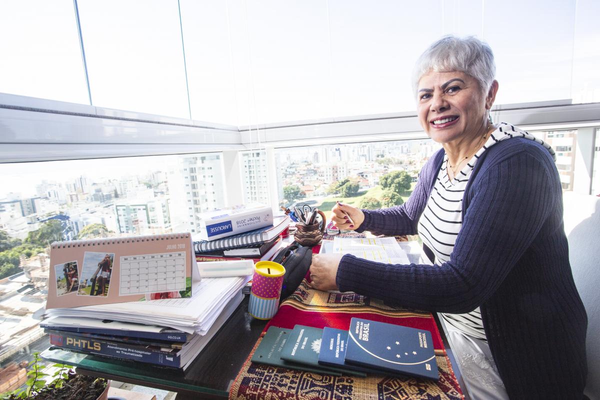Cecília Carvalho viajou para Nova Zelândia e Malta para estudar inglês e também contatar outras culturas - Daniel Queiroz/ND