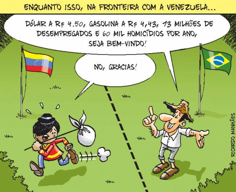 Enquanto isso, na Fronteira com a Venezuela