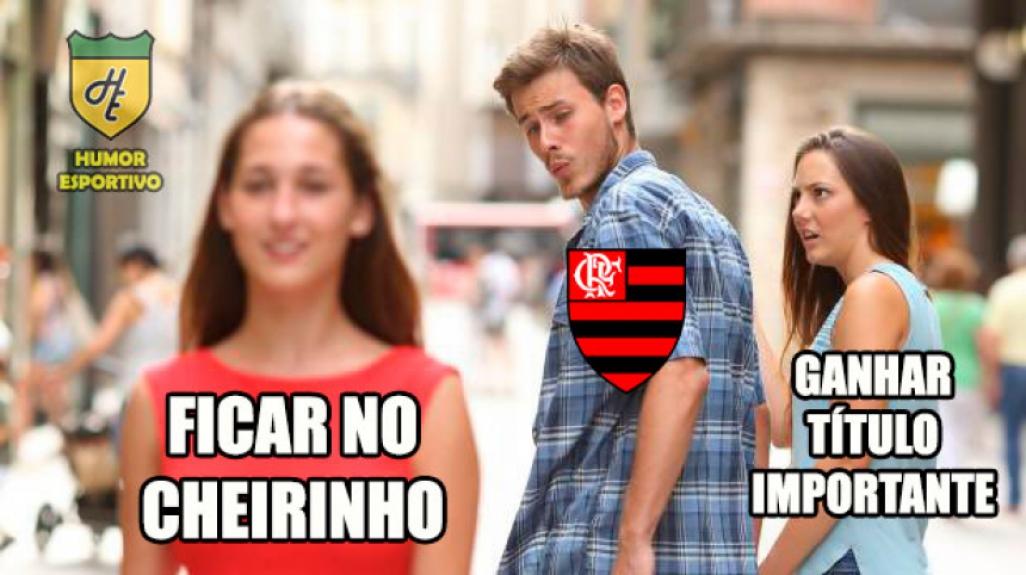 Flamengo vira piada na web após eliminação para o Cruzeiro  -  Reprodução