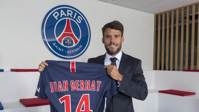 Bernat usará camisa 14 no clube francês (Foto: Divulgação)