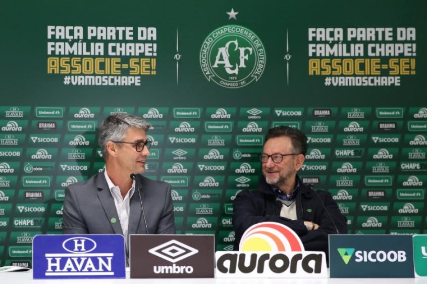 André Figueiredo afirma problema técnico de Wellington Paulista (Foto: Sirli Freitas/Chapecoense)