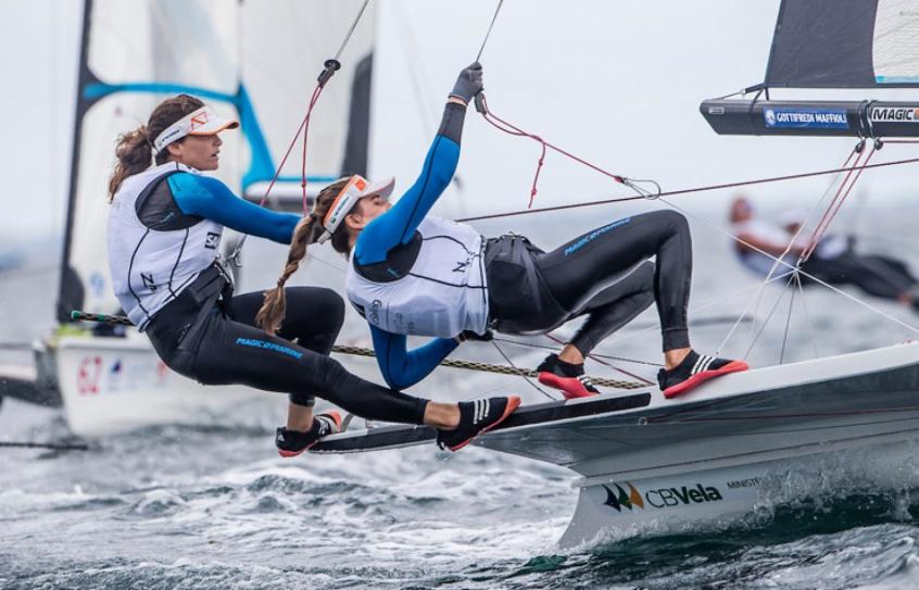 Brasileiras conseguiram um primeiro e um segundo lugar (Foto: Jesus Renedo/ Sailing Energy)
