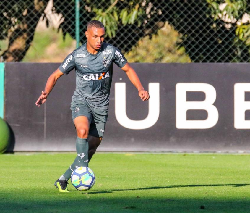 O atacante chegou ao clube no dia 23 de julho e não estrou em campo ainda -Bruno Cantini/Atlético-MG