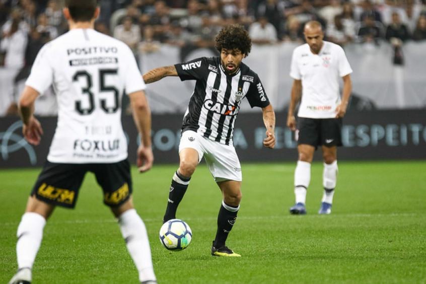 Agora titular, Luan é uma das esperanças alvingerBruno Cantini / Atlético