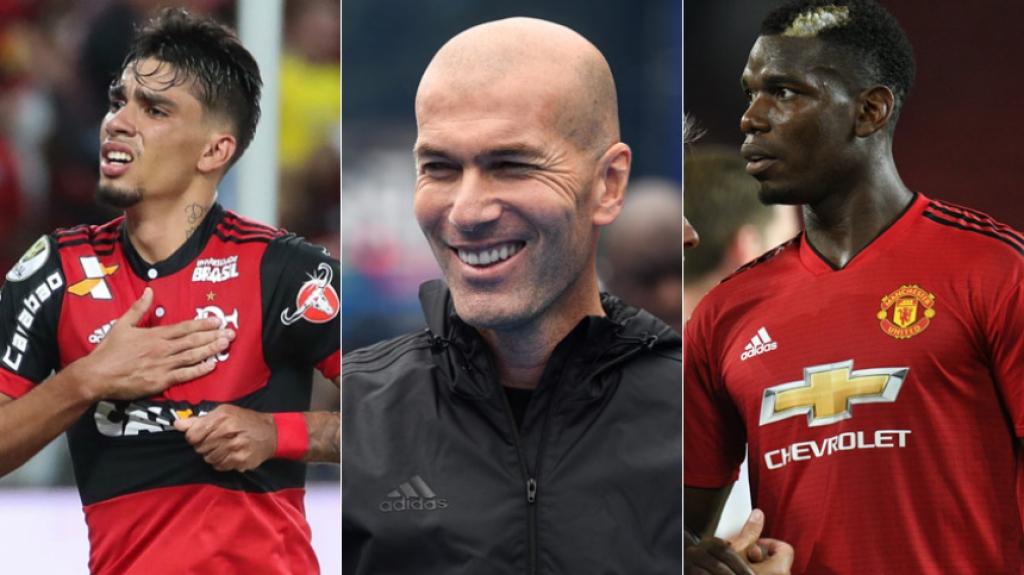 A última janela de transferências fechou recentemente, mas as especulações não param de agitar o mercado europeu. A próxima janela, só abre em janeiro de 2019, mas os clubes já monitoram a situação de alguns jogadores e analisam possíveis contratações para reforçarem suas equipes. Pogba é o mais especulado, sua insatisfação no Manchester United é frenquentemente ligada a uma possível transferência para o Barcelona ou Juventus. Ainda sem clube, Zidane também é veiculado ao momento instável do Manchester United e é nomeado como o provável novo técnico da equipe inglesa na próxima temporada. O Barcelona monita Lucas Paquetá do Flamengo, além de não desistir do meia de 22 anos do Ajax, Frenkie de Jong e ver em Nacho Monreal (Arsenal) e Alberto Moreno (Liverpool) bons nomes para a lateral esquerda - Divulgação