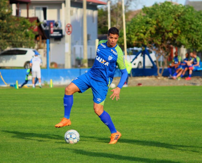 Luan foca no acesso à elite do futebol nacional (Foto: Divulgação)